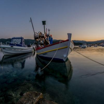 Boats In Kalamitsi Sithonia