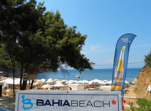 Bahia beach bar