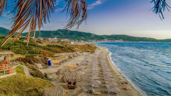Sarti beach - 360 Virtual tour