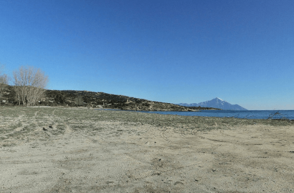 Beach of Sikia 360 Panorama