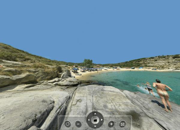 Agridia beach 360 Panorama