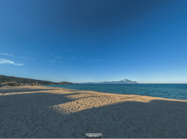 Sarti - the beach 360°