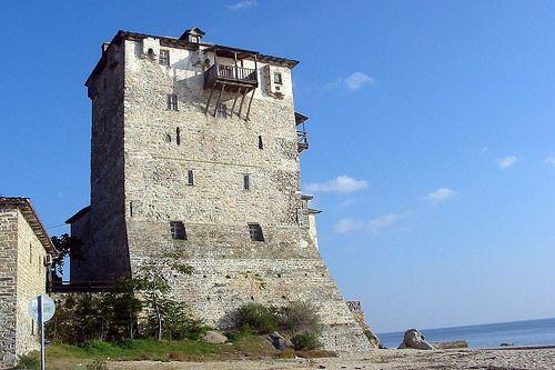 Byzantine Tower of Prosphorios (Ouranoupolis)